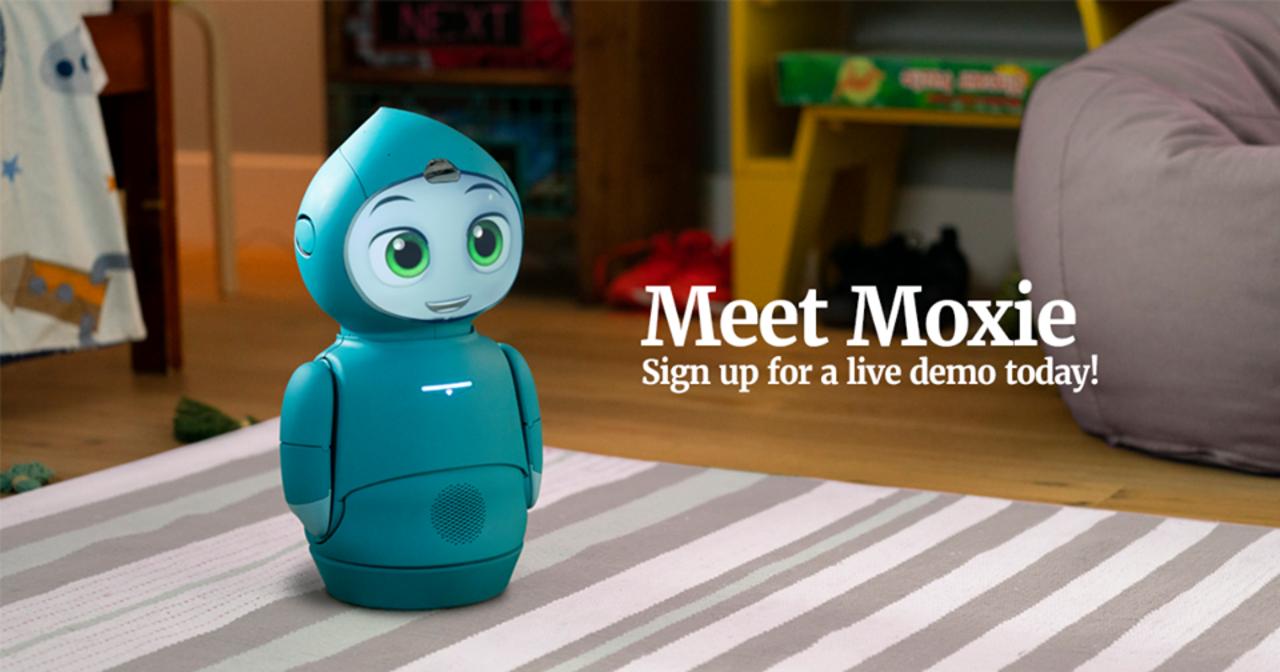 表情豊かでお喋り上手! 子供の発達を助けるソーシャルロボット「Moxie」