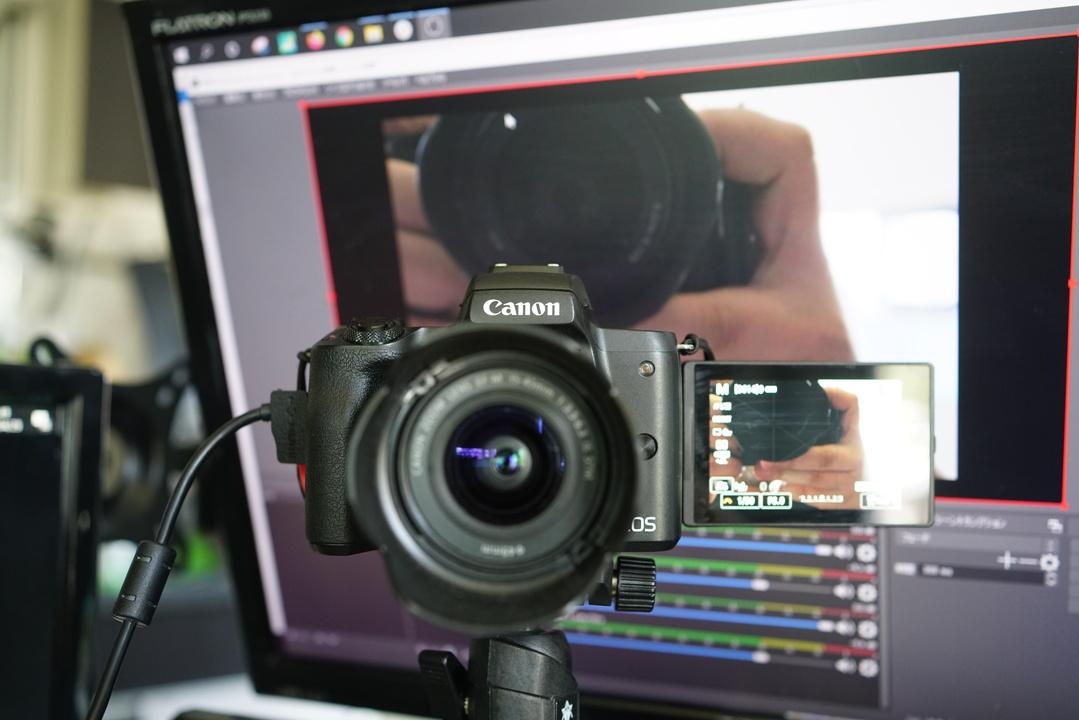 あなたのキヤノン一眼レフ・コンデジ、「キャプチャボードなし」でWEBカメラになります