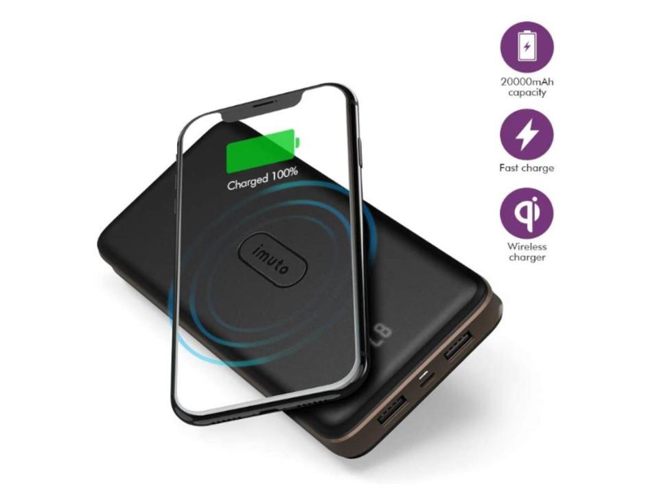 【きょうのセール情報】Amazonタイムセールで、ワイヤレス充電・3台同時充電できる大容量モバイルバッテリーや800円台の衝撃吸収・消臭インソールがお買い得に