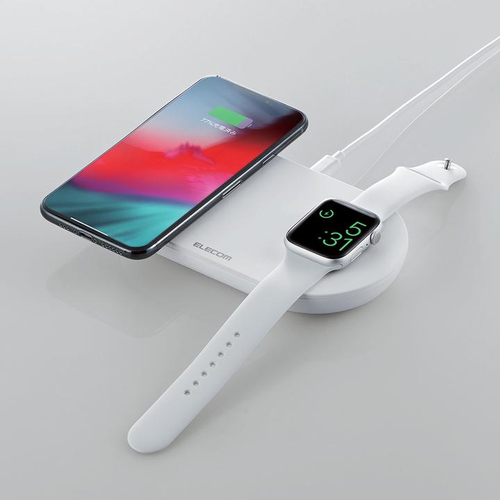 もうこれがAirPowerってことにしない? 3000円でiPhoneとApple Watch同時充電できるしさ