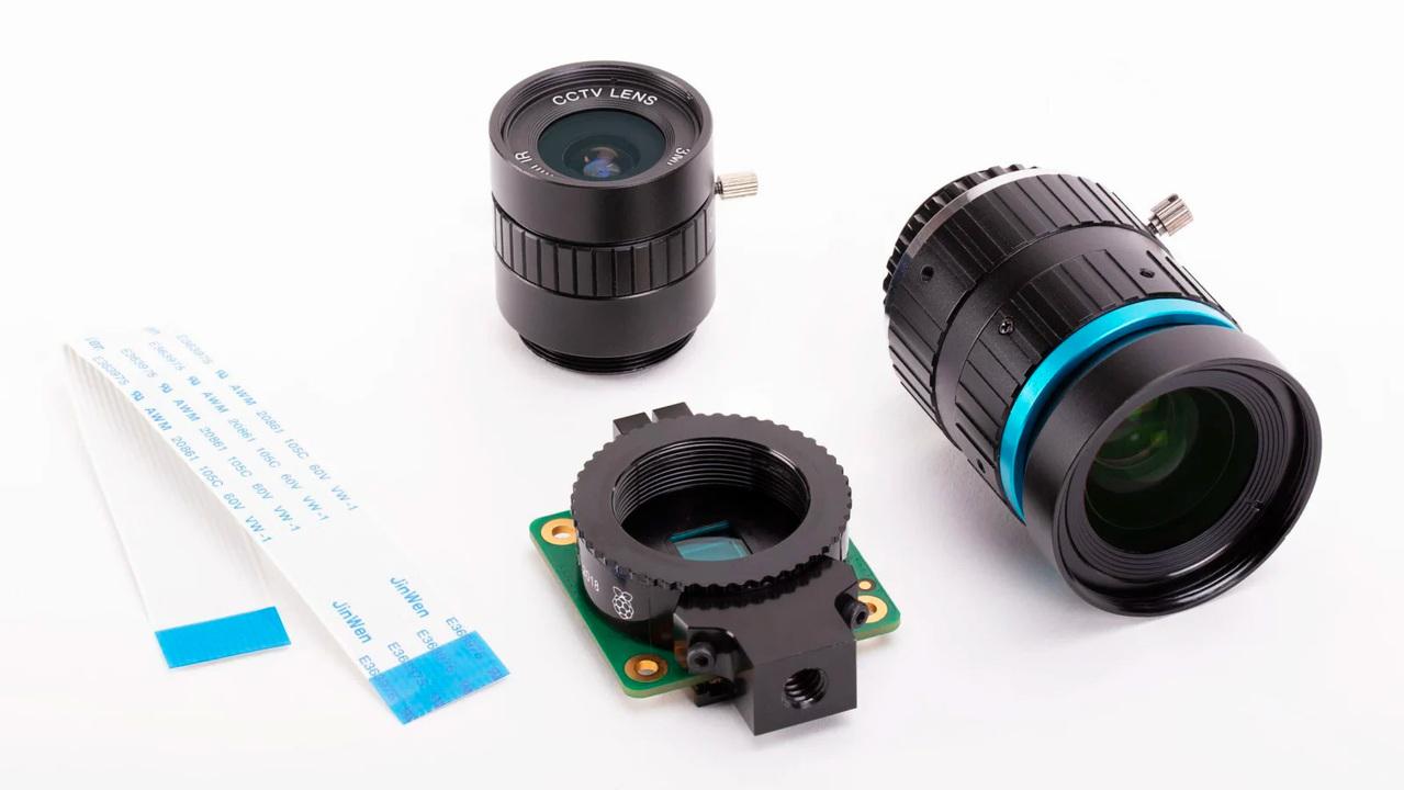 Raspberry Piの新作は、約5,300円のレンズ交換式カメラモジュール
