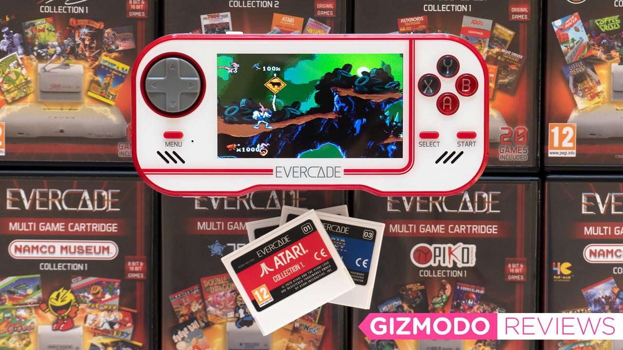 公認携帯ゲーム機Evercadeレビュー:おうち時間に激ハマりしてみては?