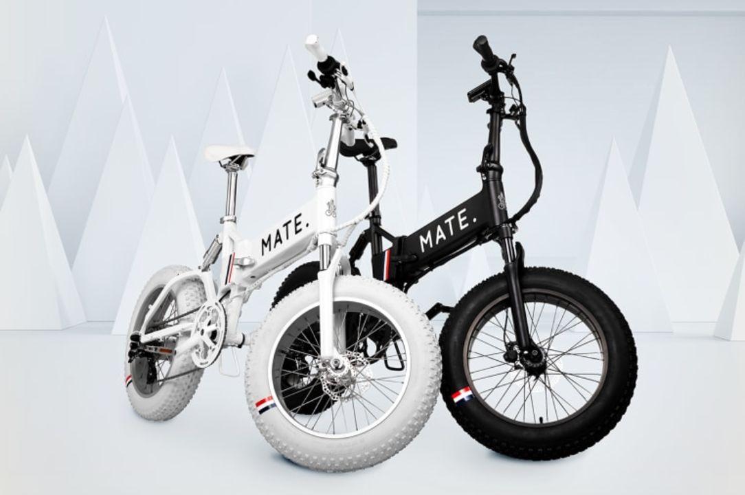 ファッションブランド「モンクレール」とMATEがコラボしたeバイクがかっこいい
