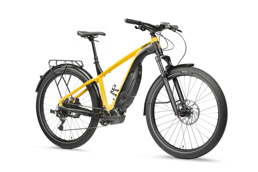 42万5000円。ドゥカティの黄色いeバイク「E-SCRAMBLER」