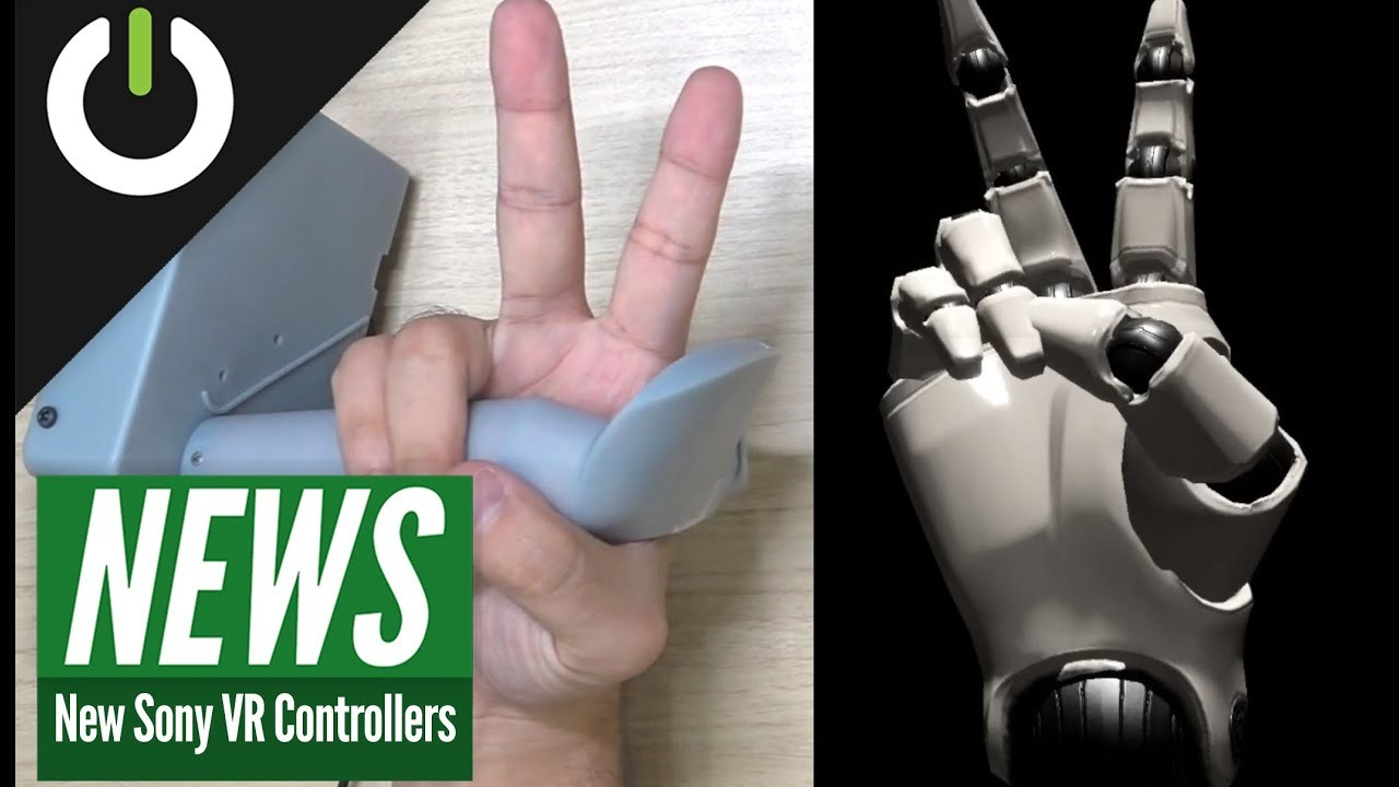 ソニーが次世代VR用コントローラを開発中。高性能センサーで指の動きを認識しちゃうよ