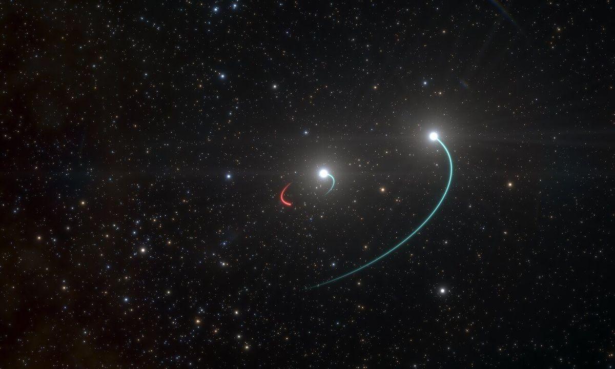 地球にもっとも近いブラックホールが発見されたかもしれない