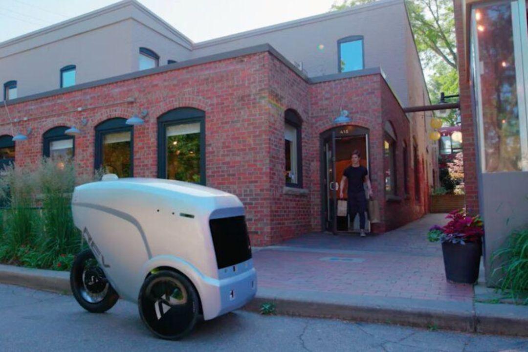 ミシガンで活躍する自律型3輪配達車ロボット「REV-1」、コロナ禍で稼働が4倍に