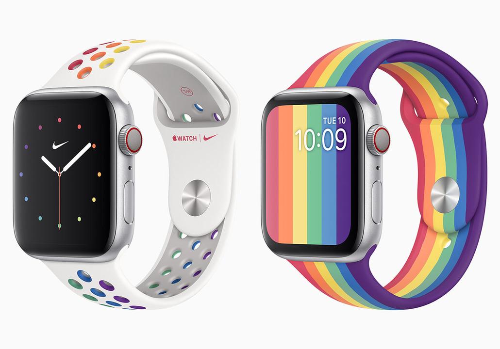 Nikeバンドのセンスいいね。レインボーなApple Watchバンドが2種登場