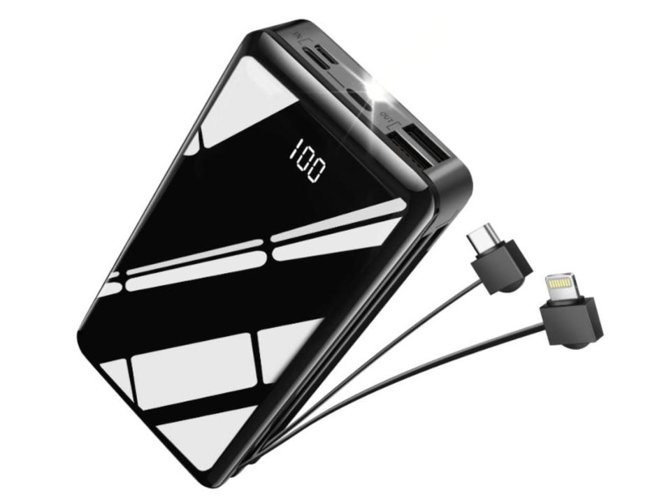 【きょうのセール情報】Amazonタイムセールで、2,000円台のLightning&Type-Cケーブル内蔵・大容量モバイルバッテリーや600円台のiPhone11カメラレンズ保護フィルム2枚セットがお買い得に
