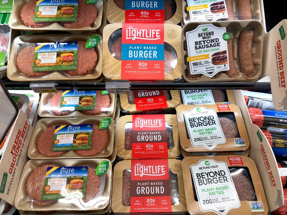 新型コロナの影響? アメリカで植物性お肉の売り上げが激増
