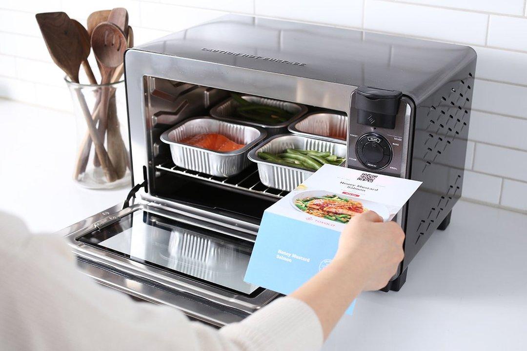 冷凍食品のバーコード読み取りで自動調理。スマートWi-Fiスチームオーブンが2万5000円