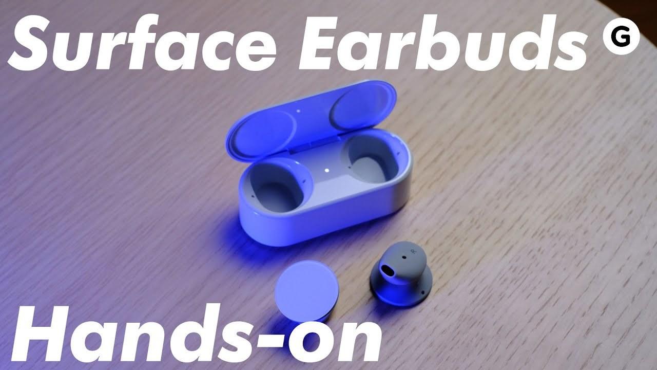 「Surface Earbuds」動画ハンズオン: この重低音を楽しめる人がうらやましい