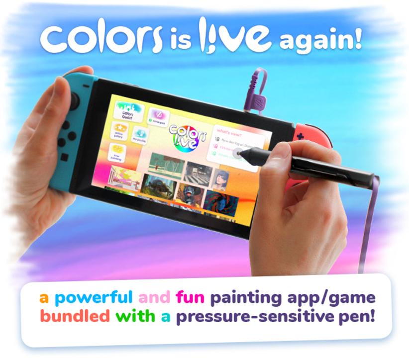 もっとどこでもお絵かき! Nintendo Switchを液タブにするためのソフト&専用ペン