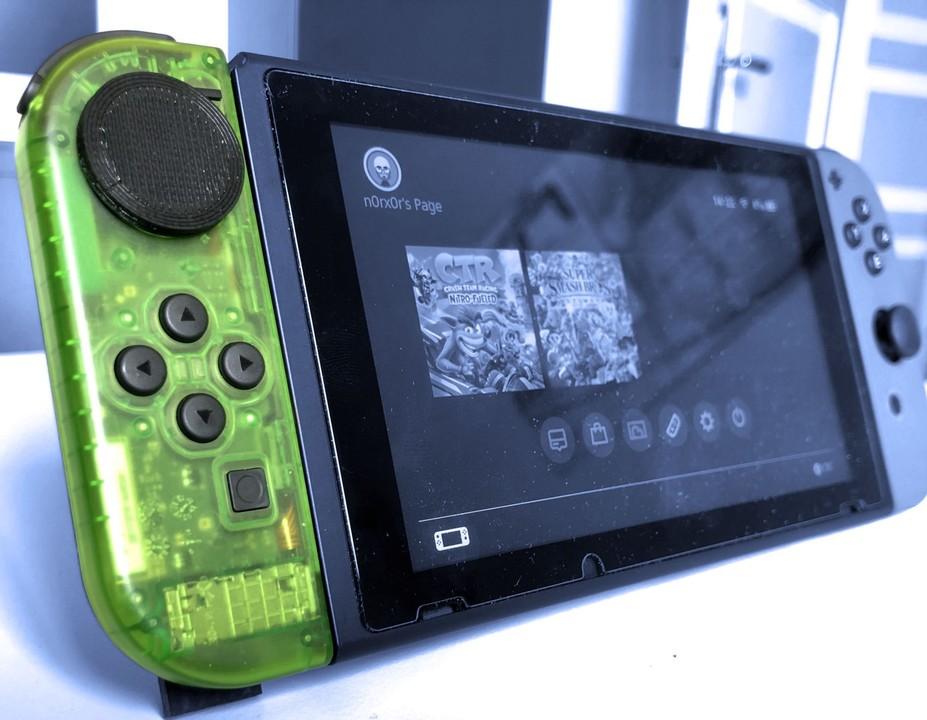 ドリフト問題を解消。Nintendo Switchのジョイコンをタッチパッドにしてみた