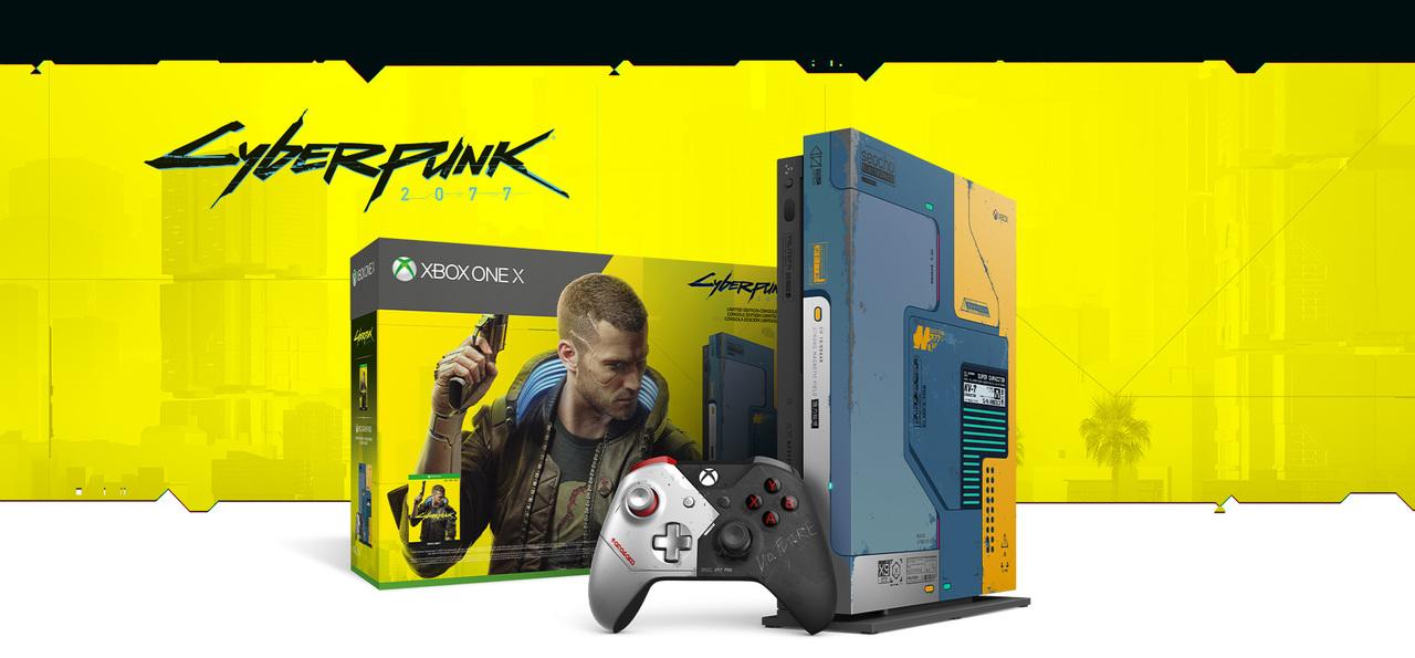 バッチバチにカッコいい『サイバーパンク 2077』仕様のXbox ONE X、6月8日に発売です