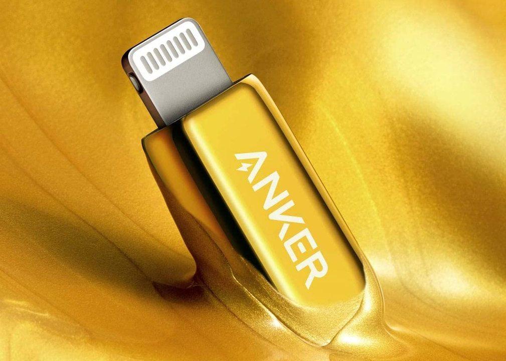 経済回したいあなたへ、Ankerから24金メッキのUSB-C/Lightningケーブル