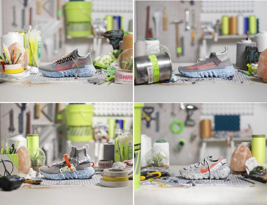 宇宙ゴミのごときスクラップからスニーカーを。サスティナブルを極めた「ナイキ スペース ヒッピー」6月11日発売