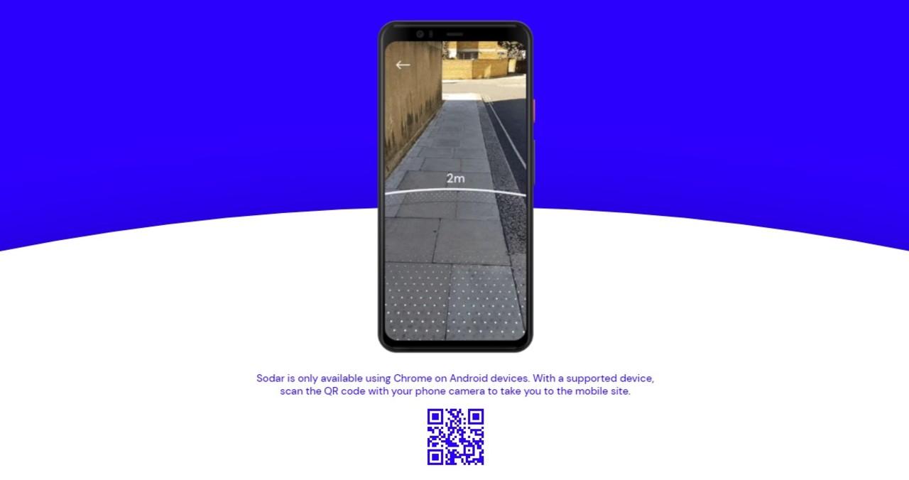 グーグルから社会的距離ARレーダー・アプリ「Sodar」公開