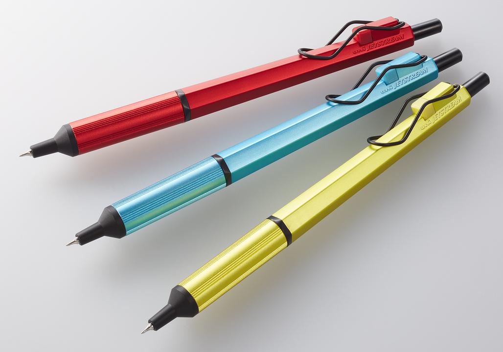 世界最小ボール径0.28mmの油性ボールペン「JETSTREAM EDGE」に限定カラー降臨
