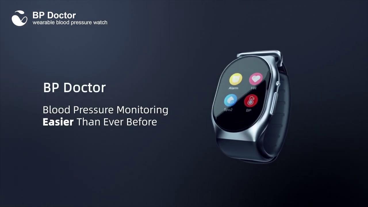 ベルトが膨らんで、血圧計になるスマートウォッチ。クラファンで5000万円調達中