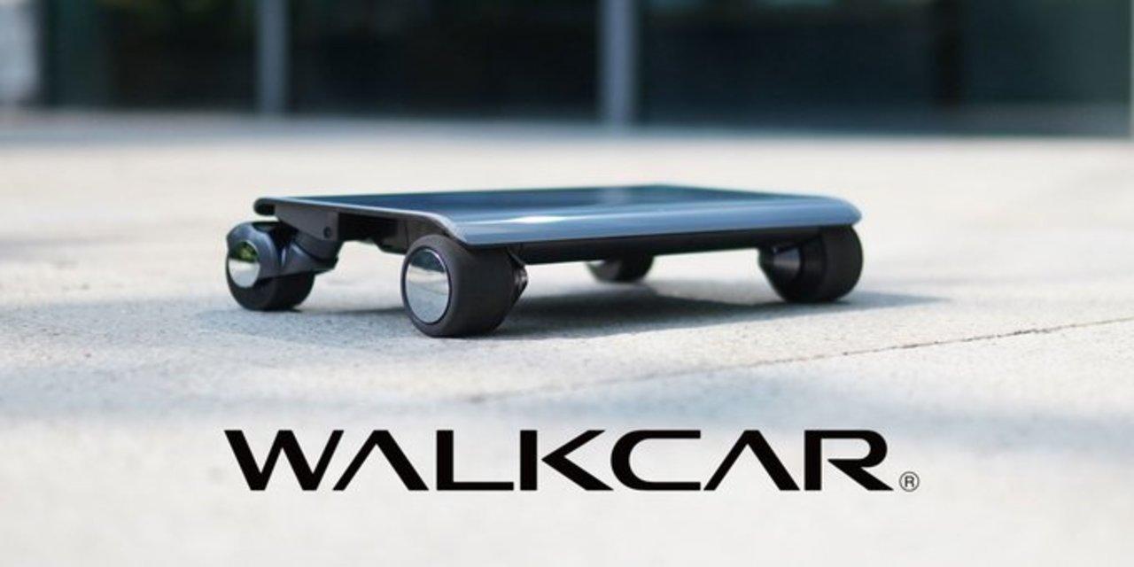 ノートパソコンみたいな1人乗りモビリティー「WALKCAR」