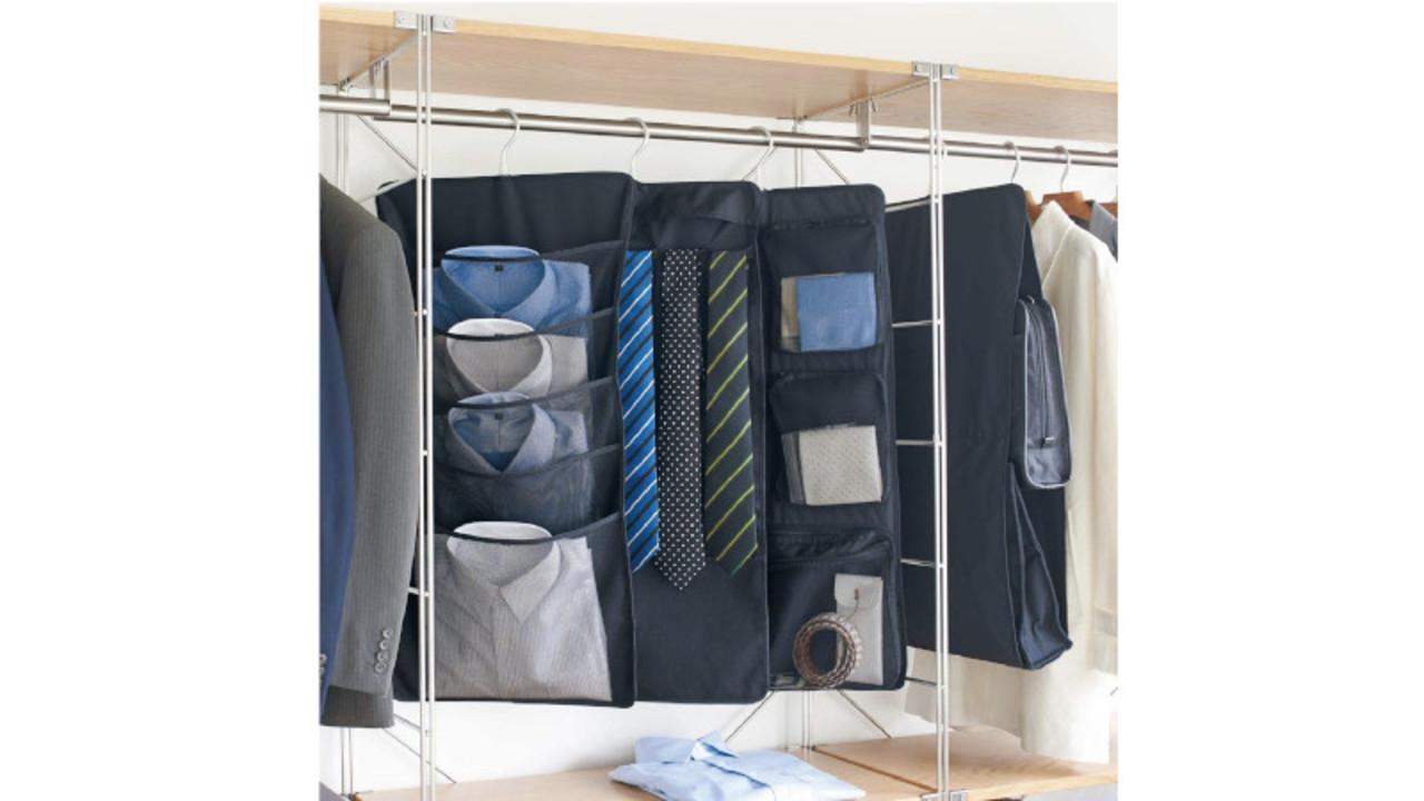 無印良品の「吊るせる収納」は、朝時間を短縮してくれる最強の収納かも