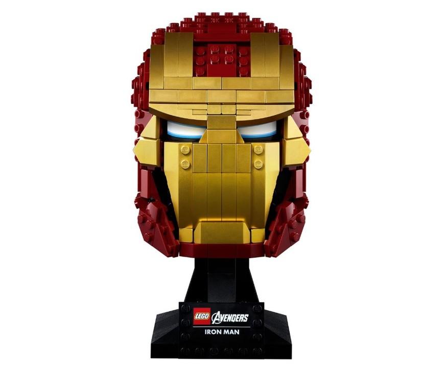 レゴから高さ19cmの『アイアンマン』頭像が登場。お手頃サイズでTV台や玄関にぴったり