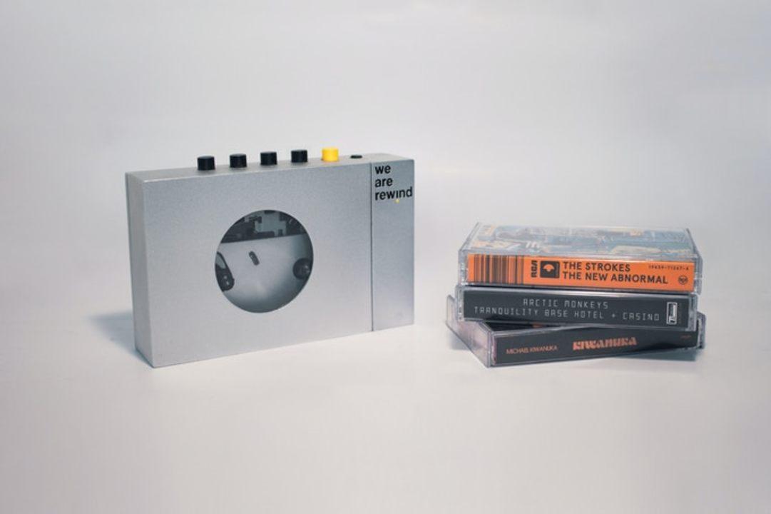 スマホからミックステープを作れる。Bluetoothカセットプレイヤー