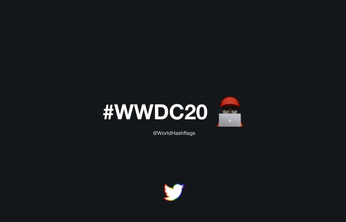WWDCのツイッターハッシュタグがカワイイ! #WWDC20