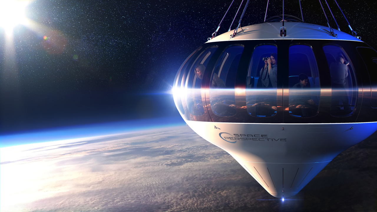 最強の映え写真が撮れそう。大きな気球で「宇宙の入り口」まで飛ぶ実験