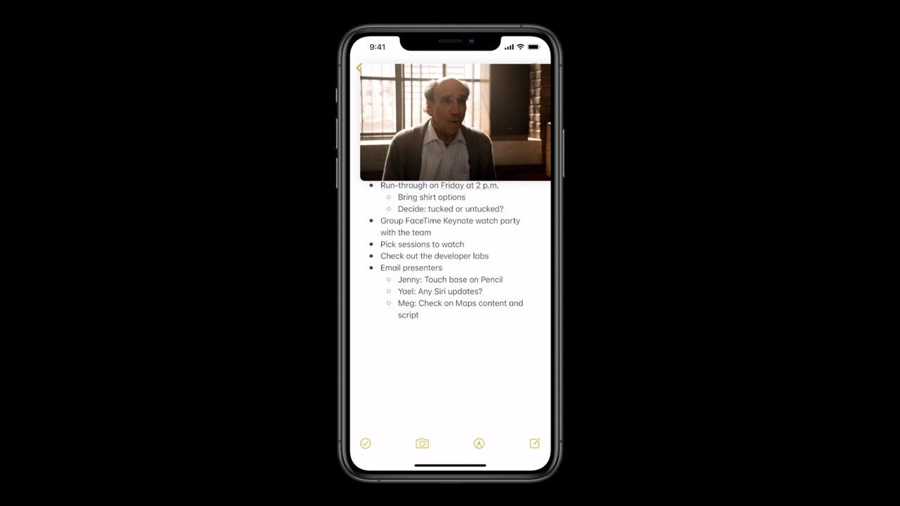 ホーム画面で動画が再生できる「ピクチャ・イン・ピクチャ」、っべぇわ… #WWDC20