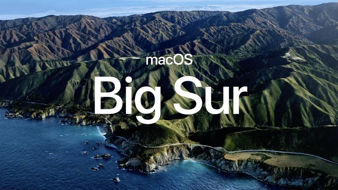 次のmacOSの名前は「Big Sur」です #WWDC20
