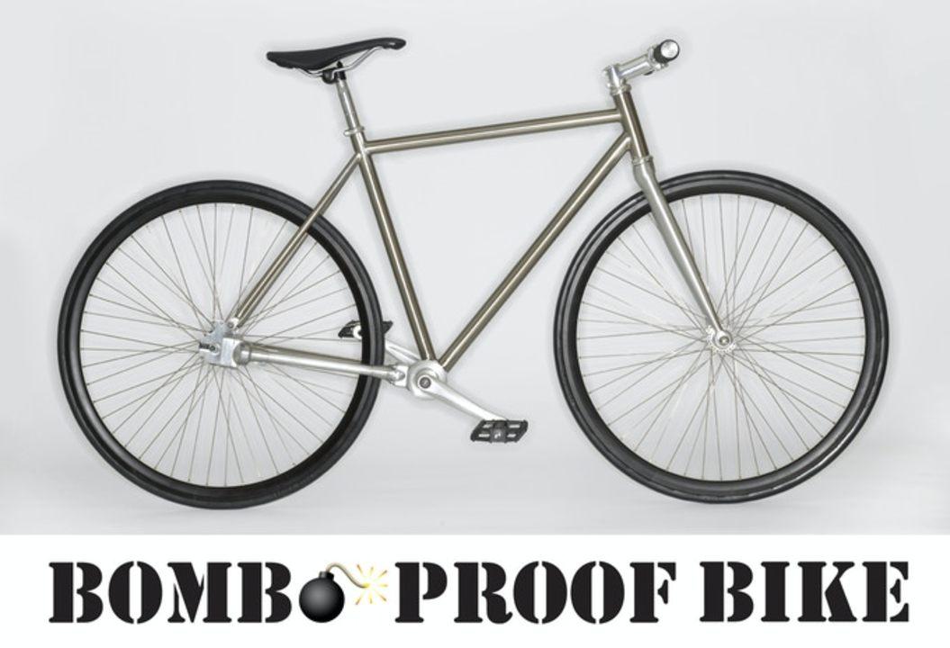 究極のメンテフリー! パンクしない&サビない&チェーン切れない自転車