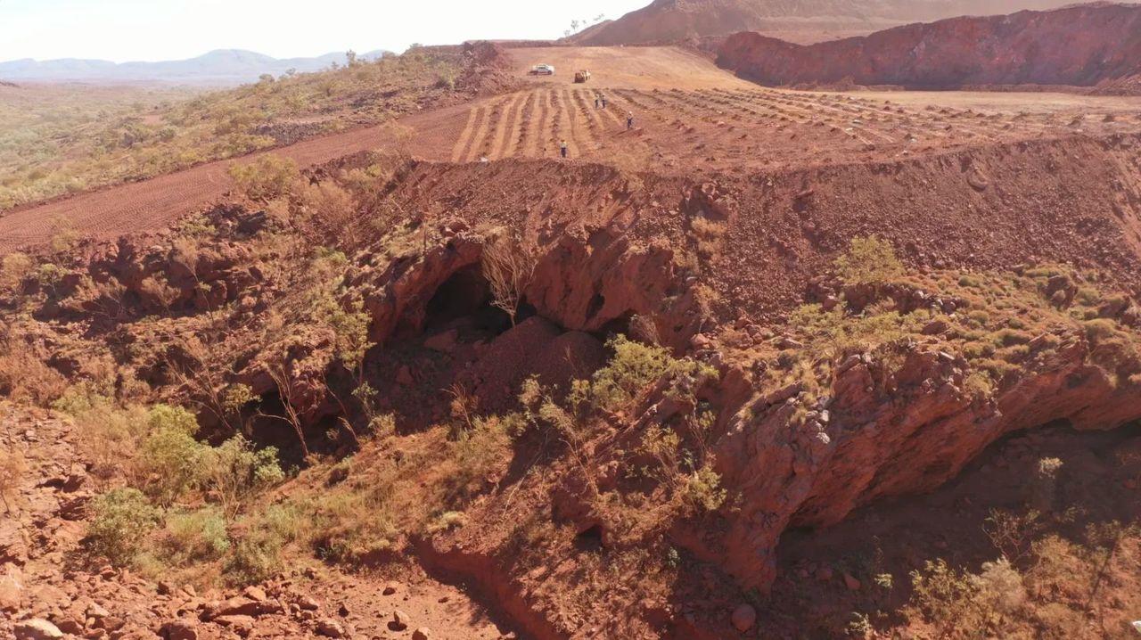 採掘会社が4万6000年前のアボリジニの遺跡を爆破。しかもこれ合法なんですって