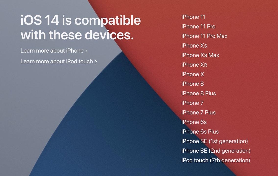 iOS 14・macOS 11の対応デバイスまとめ。ふところが深い
