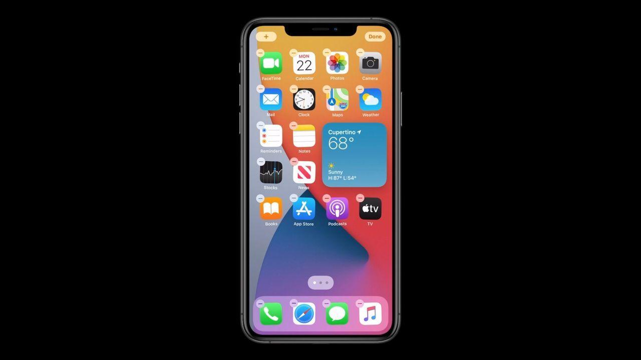 iOS14(iPhone OSじゃなかった)、ホーム画面にウィジェットがあるぞ! #WWDC20