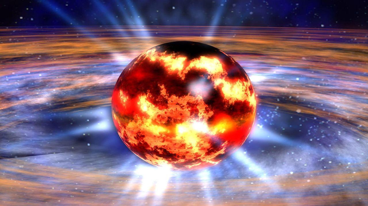 「存在し得ないモノ」とブラックホールが衝突か