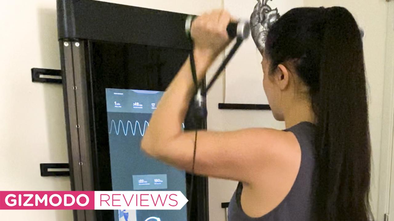 「Tonal」レビュー:アパートメント暮らしに最適な、デジタル筋トレマシン!