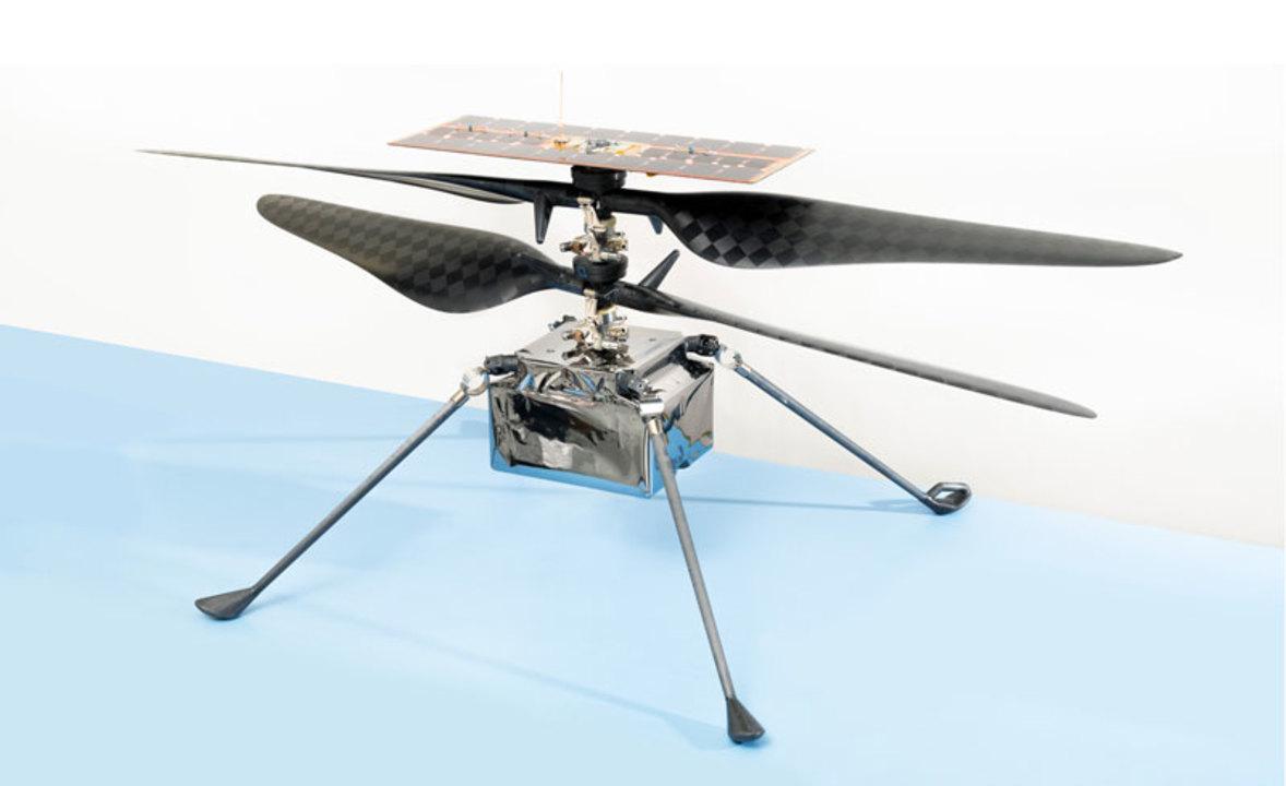 NASAの火星ヘリコプターは探査機のお腹から産まれる仕様だった