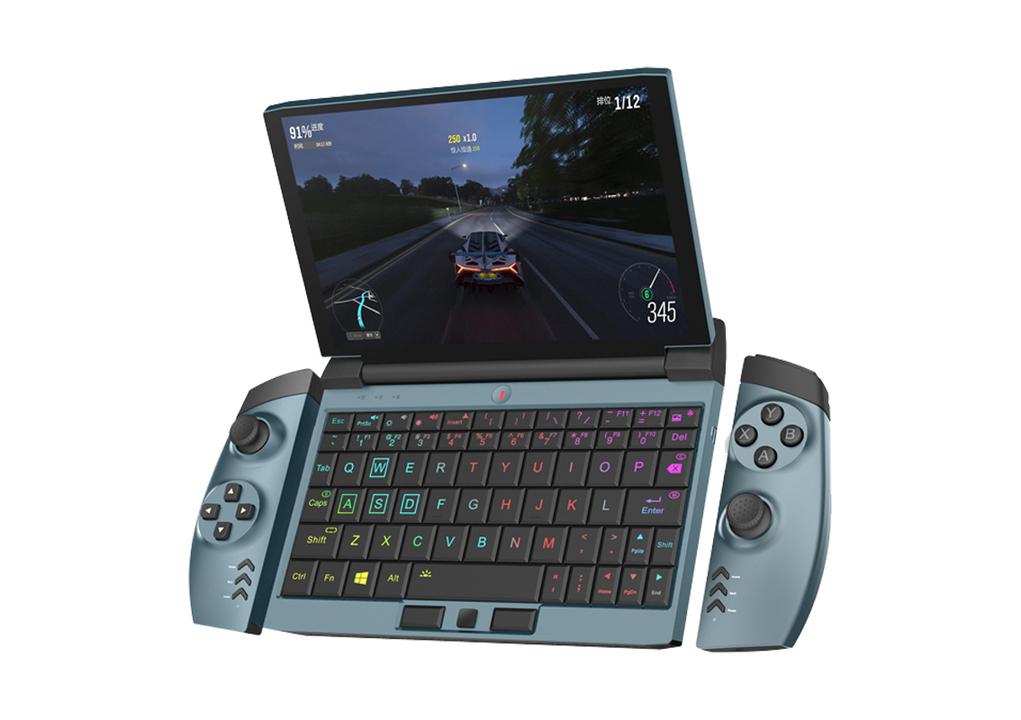 Joy-Conスタイル!? コントローラーを付け外しできるポータブルゲーミングPC「OneGx1」