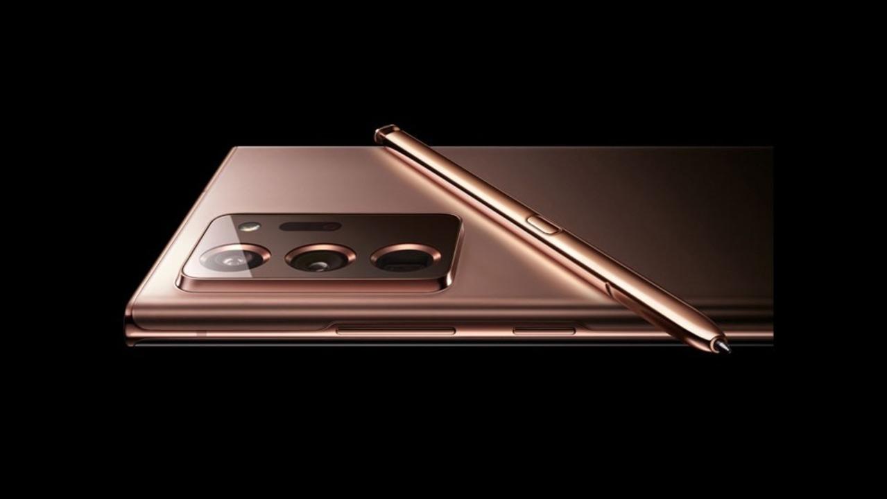 Galaxy Note 20 Ultra(仮)の画像がリーク。今年のSamsung端末はカッパー色が売り?