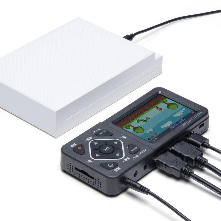 HDMIキャプチャユニット、単体での録画スキルを手にする