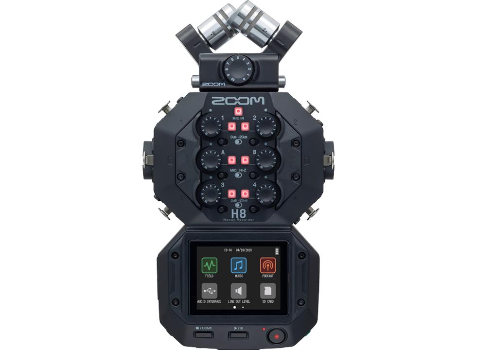 もう見た目からして最強感パない。Zoomの新ハンディレコーダー「H8」