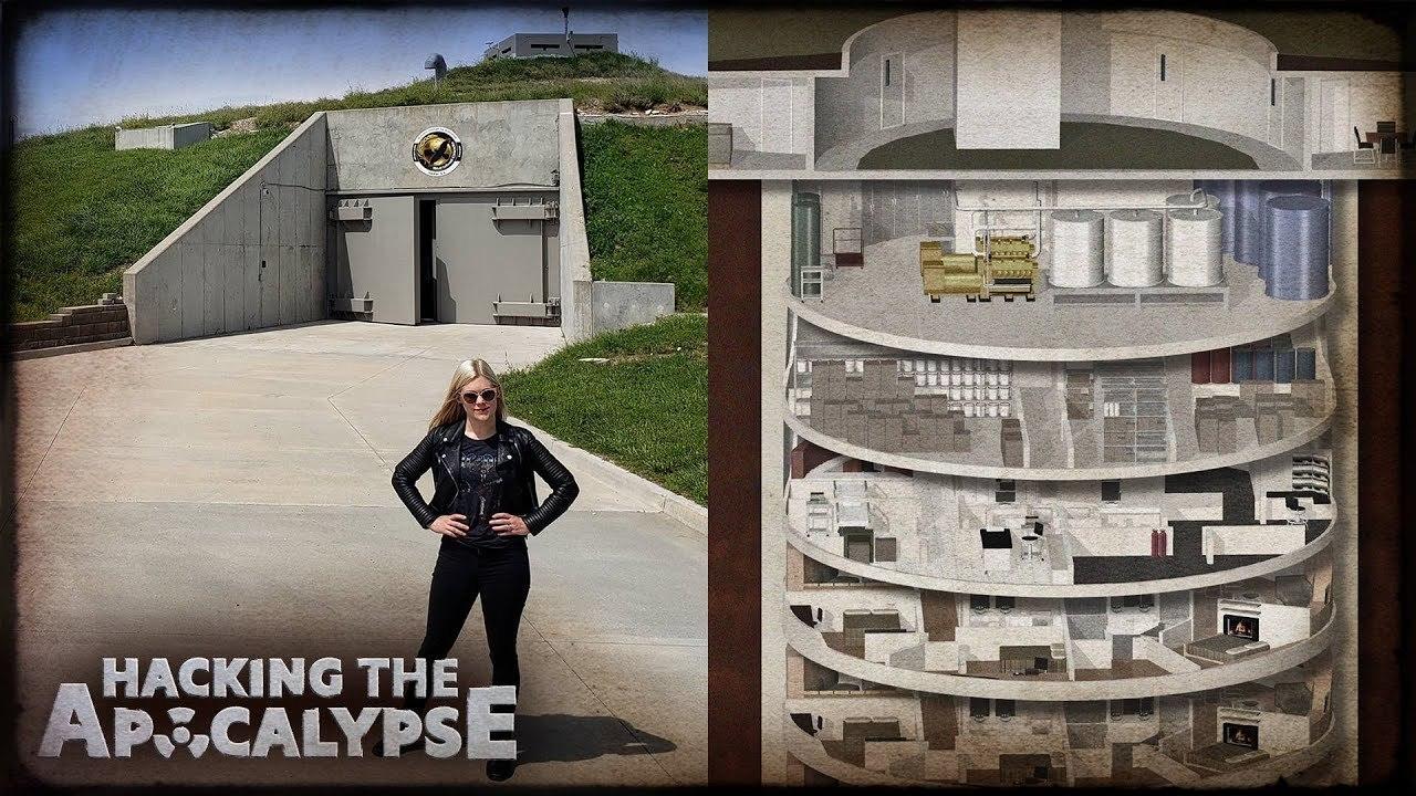 冷戦時代のミサイル格納庫を改装。高級マンションみたいな地下15階の核シェルター