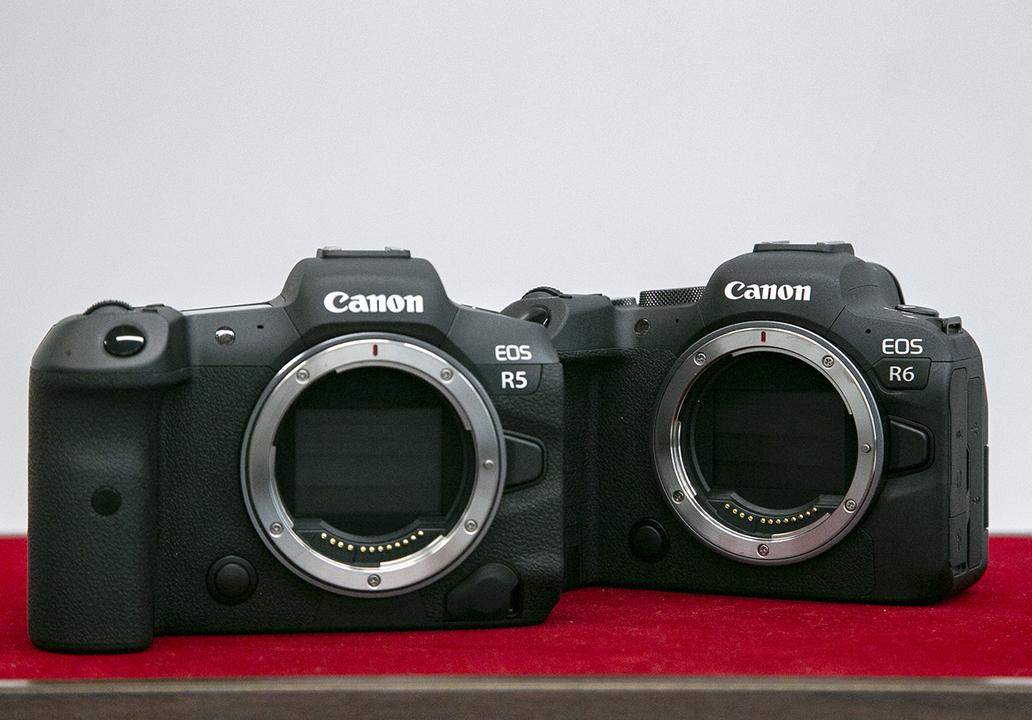 キヤノンのフルサイズミラーレスカメラEOS R5&EOS R6ハンズオン:え、R6すごくない?