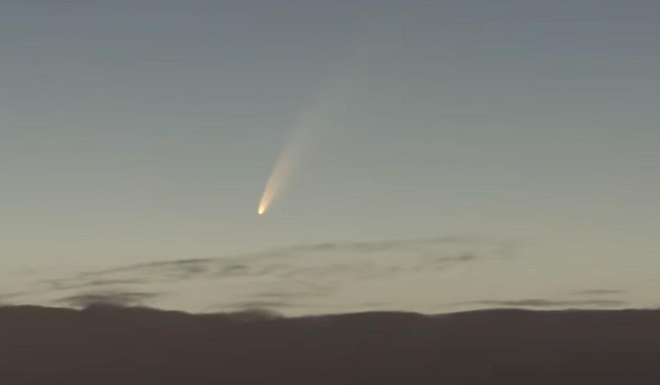 今を逃したら6800年見れない!ネオワイズ彗星を意地でも肉眼で見たい!