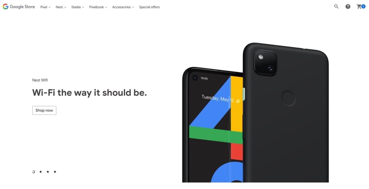 Nest Wifiだと思った? Pixel 4Aちゃんでーす! カナダのGoogleストアで誤掲載
