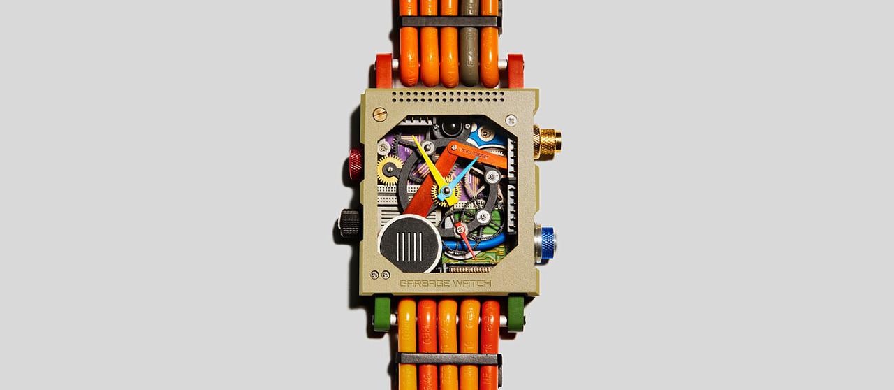 電子廃棄物から作る「ガーベイジ・ウォッチ」が2021年にデビュー