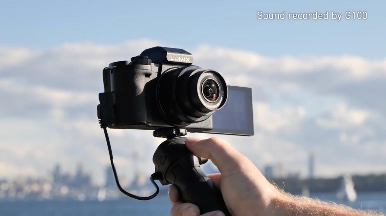 パナソニックのVLOGカメラ「G100」をライブ配信でハンズオン。明日16:00から!