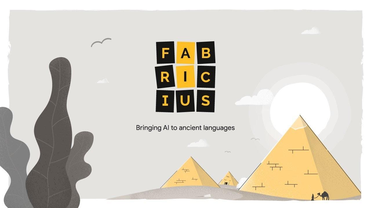 Googleが古代エジプトの象形文字を翻訳するツール「FABRICIUS」を発表